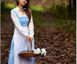 belle, cosplay, and disney image