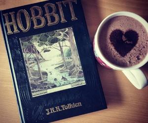 bilbo, book, and heart image