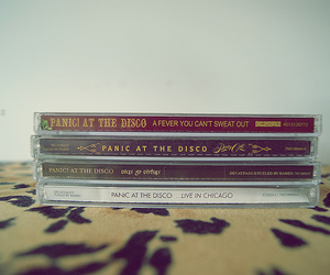 panic! at the disco and cds image