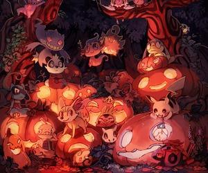 pokemon, anime, and Halloween image
