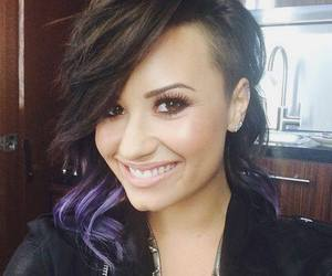demi lovato, demi, and hair image