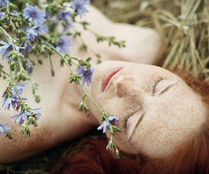 acne, flowers, and nature image