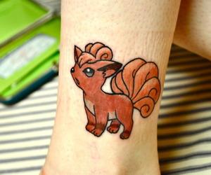 pokemon, tattoo, and vulpix image