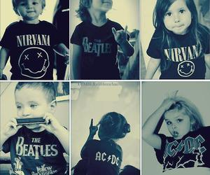 nirvana, rock, and the beatles image
