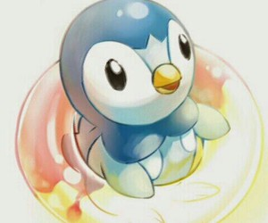 penguin, Piplup, and pokemon image