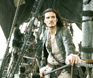 will turner, orlando bloom, and pirate image