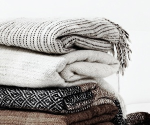 winter, scarf, and blanket image