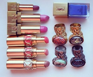 YSL and lipstick image