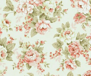 vintage, background, and flowers image