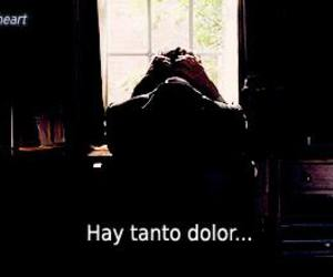 espanol and dolor image