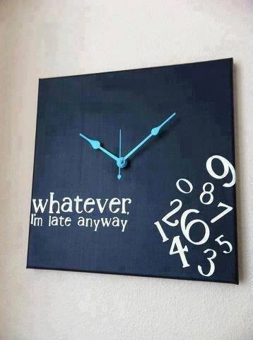awesome, do it yourself, and clock image