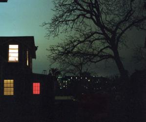 dark, night, and house image