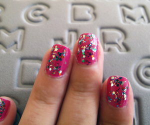 manicure, party, and opi image