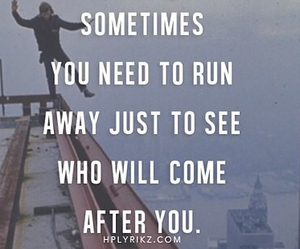 quote, run, and life image