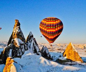 balloons, cappadocia, and nature image