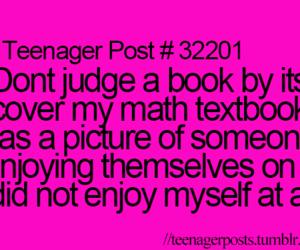 teenager post, funny, and math image