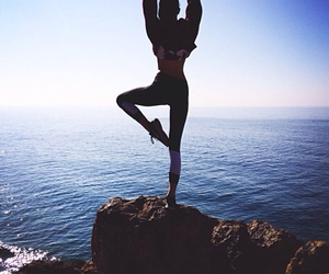 kendall jenner, yoga, and body image