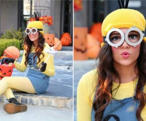 minions, Halloween, and costume image