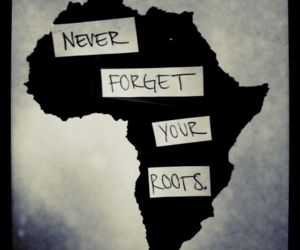 africa and roots image