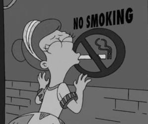 black, grunge, and smoke image