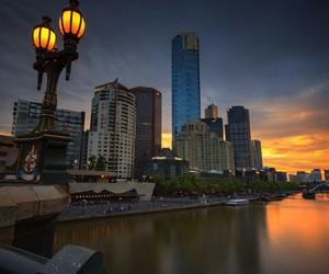 australia, building, and lights image