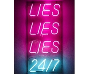 lies, grunge, and quote image