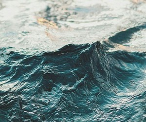 ocean, blue, and grunge image