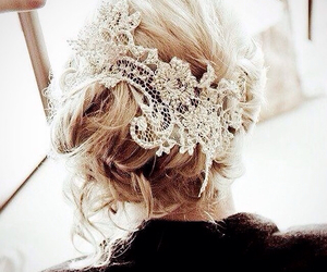 blonde, lace, and perfect image