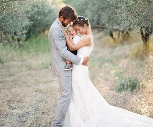 family, wedding, and love image