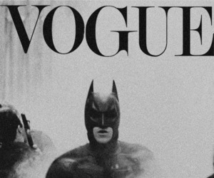 batman, vogue, and black and white image