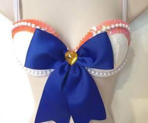 blue, rave, and ribbon image