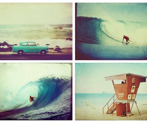 summer, surf, and car image