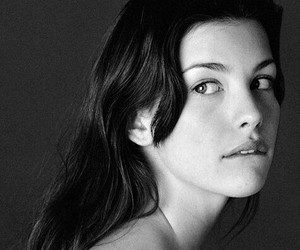 black and white, actress, and liv tyler image