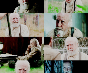 hershel, thewalking dead, and twd image