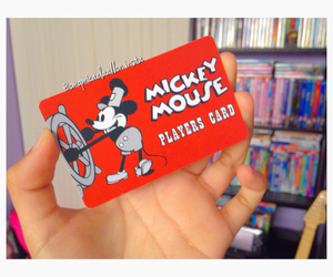 card, florida, and mickey mouse image