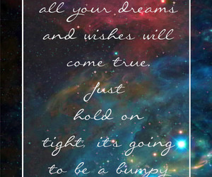 quote, Dream, and wish image