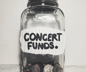 concert, grunge, and money image