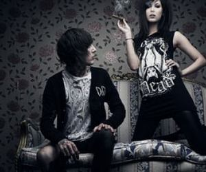 oliver sykes, drop dead, and amanda hendrick image