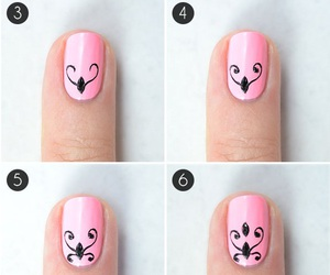 beauty, girly, and nail art image
