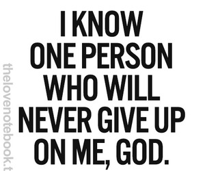 quote and god image