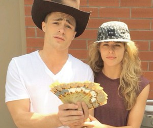 colton haynes and instagram image