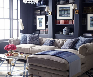 blue, decor, and style image