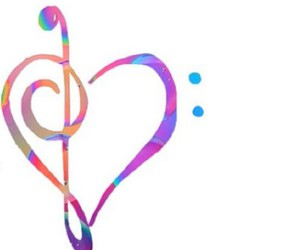 music, love, and overlay image