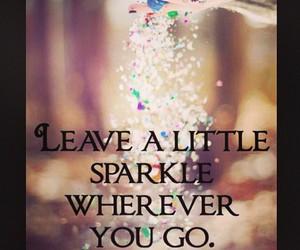 glitter, sparkle, and true image