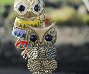 owl, accessories, and necklace image