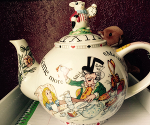 alice, alice in wonderland, and drink image