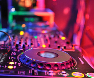 music, dj, and party image