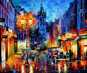 art, impressionism, and painting image