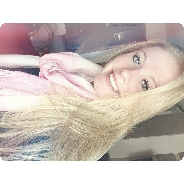 blonde, pretty, and cute image