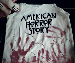 american, blood, and diy image